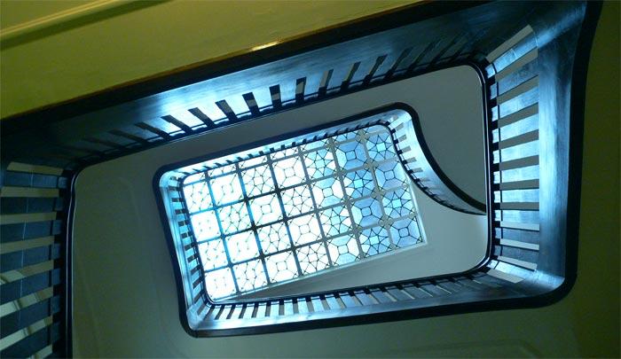 Treppenhaus der Gemeinschaftspraxis